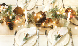 Decorating Your Home for Christmas with What You Have Handy