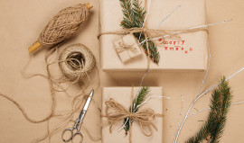 Creative Wrapping Ideas to add that Touch of Divine!