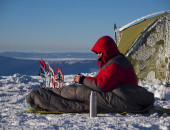 Did you ever go camping in the winter?